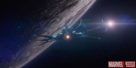 GUARDIANS OF THE GALAXY Images Featuring Knowhere and