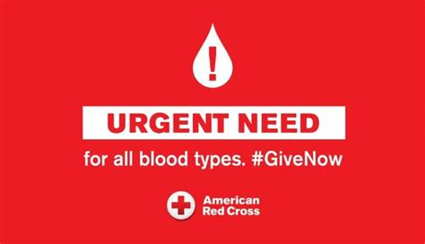 Red Cross has urgent need for blood donors - The Record Herald