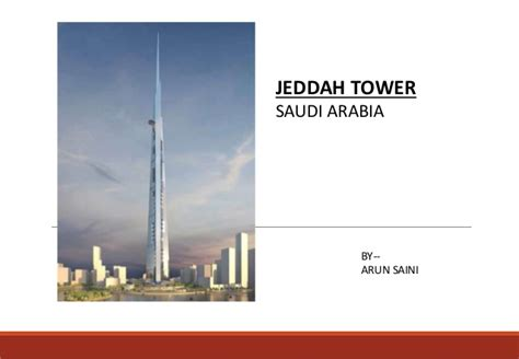 Jeddah Tower world's coming tallest building