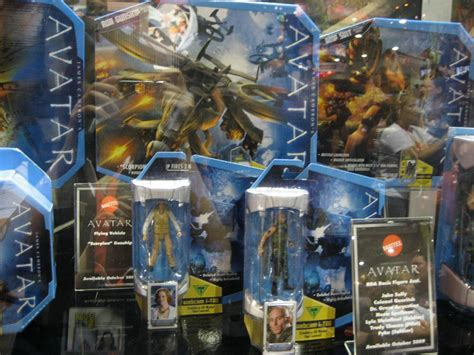 SDCC 09: First Look New Avatar Movie Toys From Mattel