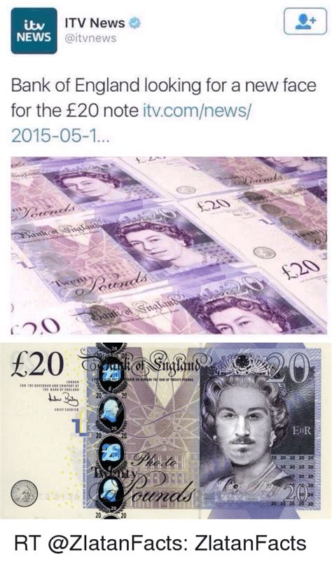 ITV News NEWS Aitvnews Bank of England Looking for a New