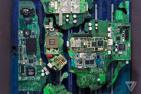How we made New York City with a pile of e-waste | The Verge