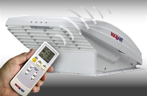 Maxxair Maxxfan Deluxe Roof Vent Fan With Remote Control