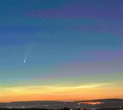 Comet Neowise Visiting Our Solar System In July