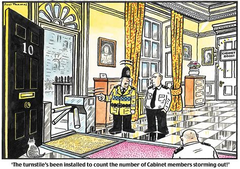PAUL THOMAS on… Cabinet resignations   Daily Mail Online