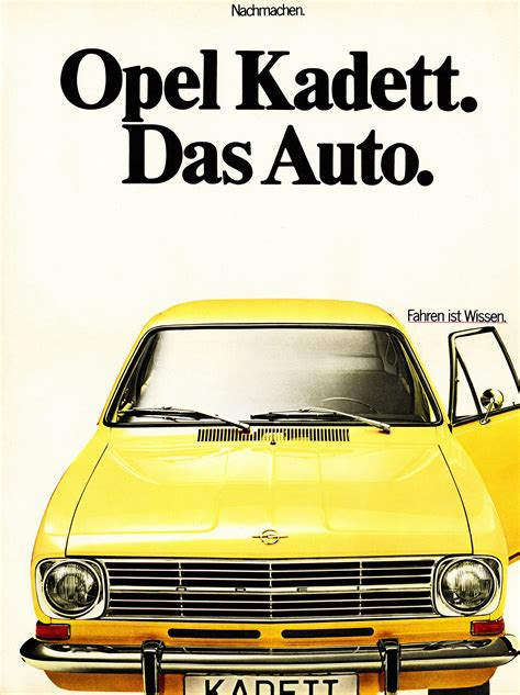 """Opel Pokes VW and """"Das Auto"""" Slogan By Celebrating the"""