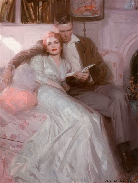 30 Glamorous Oil Paintings by Tom Lovell, Hamish Blakely