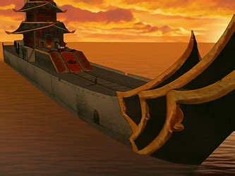 Royal barge - Avatar Wiki, the Avatar: The Last Airbender