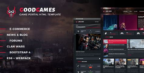 Good Games - Portal / Store HTML Gaming Template by _nK