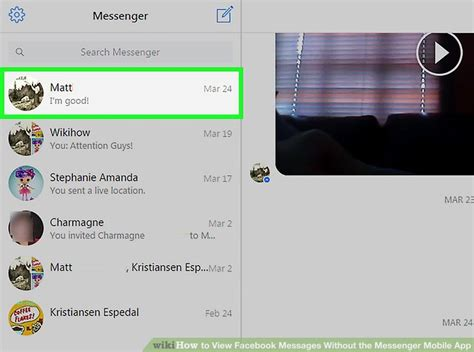 How to View Facebook Messages Without the Messenger Mobile App