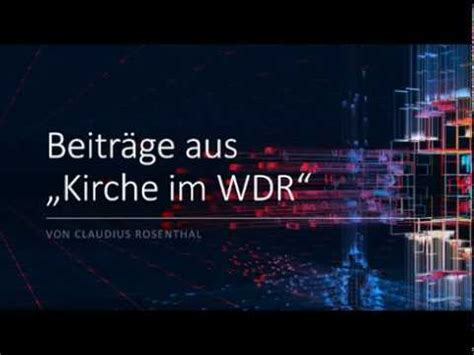 Morgenandacht Wdr