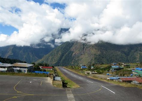 Lukla Airport in Nepal is the world's scariest airport