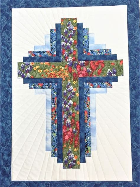 Hope of Texas Cross - Wall Hanging KIT WITH PATTERN 25