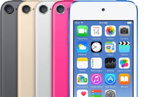 iPod touch: Updated With A10 Chip and More Storage