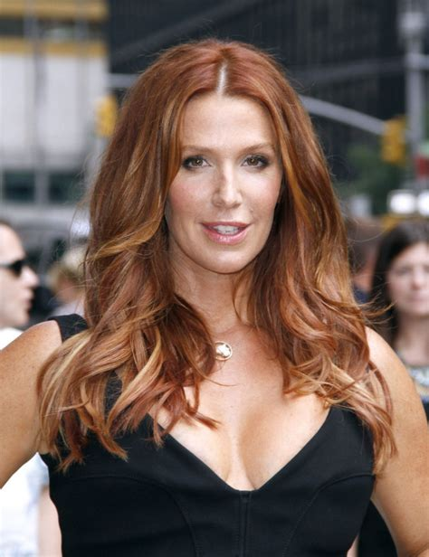 Poppy Montgomery at The Late Show with David Letterman in