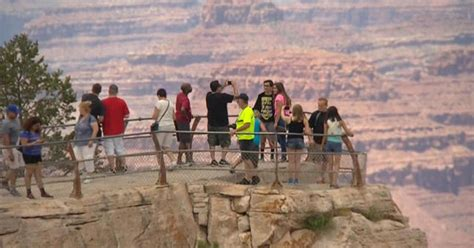 Grand Canyon tourist falls to his death while taking
