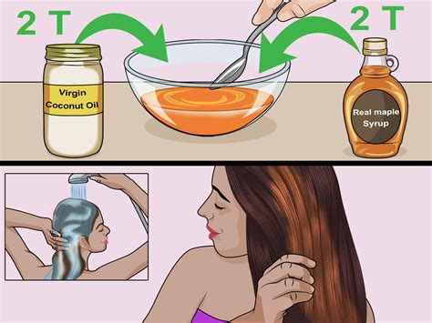 How to Do a Maple Syrup Hair Mask: 8 Steps (with Pictures)