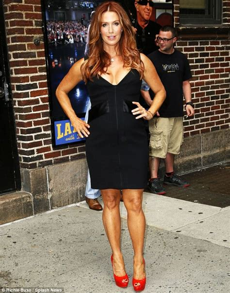 POPPY MONTGOMERY Arrives at The Late Show with David
