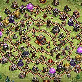 Best TH10 Trophy/Defense Base Layouts with Links 2020