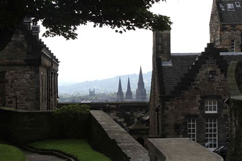Palace of Holyrood House and Edinburgh Castle   Grazography