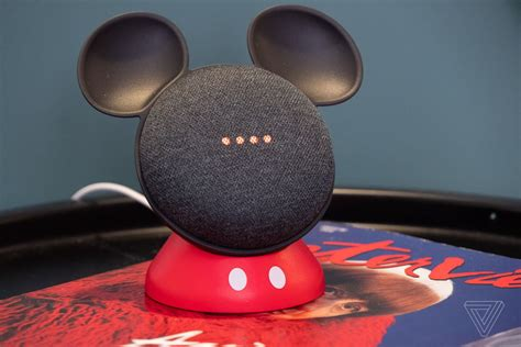 This cute stand makes Google's Home Mini look like Mickey