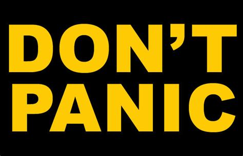 Don't Panic! Cult of Mac Gets the Background Behind the