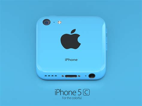 iPhone 5c blue icon by Alexandr Nohrin on Dribbble