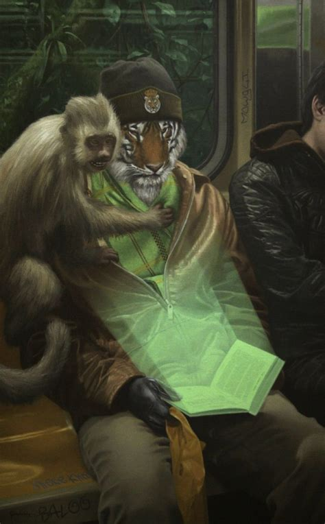 Surreal Paintings Of Creatures In The Modern World By