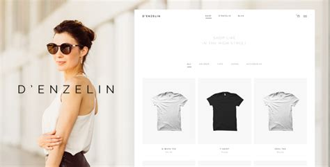 D'enzelin - HTML E-Commerce Website Template by