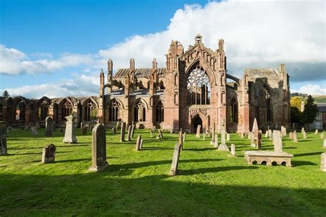 Melrose Abbey, Melrose – Churches, Cathedrals & Abbeys